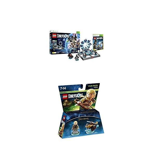 LEGO - Starter Pack Dimensions (Xbox 360) + LEGO Dimensions - El Señor De Los Anillos, Legolas 1