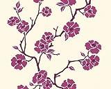 Esprit Home 219923 Vliestapete Sunny Blossum, Mustertapete, floral