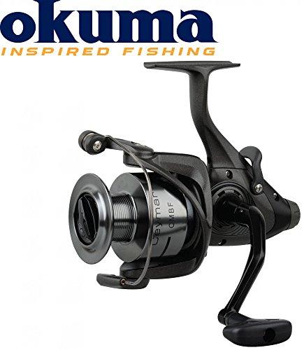 Carrete de pesca Okuma Ceymar CMBF-365, 340 m, 0,35mm, con piñón libre, ruedas con función de piñón libre, carrete de pesca para pescar carpas, luciopercas, anguilas o truchas