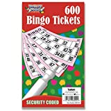 600 Bingo Tickets briefpapier Multi Game Toys Kids Adult Fun Boeken Pagina's Jumbo
