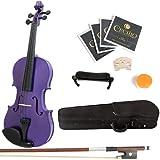 Mendini 3/4MV-Purple+SR Violon Acoustique Violet