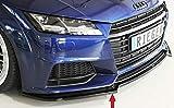Rieger Frontspoilerschwert schwarz glänzend für Audi TT (8J-FV/8S): 07.14-, TTS (8J-FV/8S): 11.14-