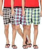 Joven Men's Cotton Checkered Multicolor ...