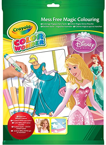 Crayola Color de Wonder - 75-1932-E-000 - A del libro de colorear - Kit - Princess Palace Mascotas - Disney