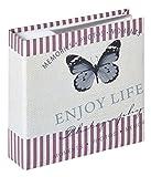 Quantio Walther, album fotografico Mariposa, per 200 foto 10 x 15 cm, con campi di etichettatura, 100 pag