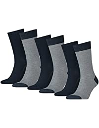 LEVIS Unisex Sportsocken 168SF REGULAR CUT MICRO STRIPE - 3x2 Paar Socken (6er Pack)