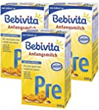 Bebivita Pre Anfangsmilch - von Geburt an, 3er Pack (3 x 500g)