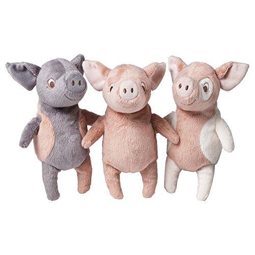 Preisvergleich Produktbild IKEA Kuscheltier Schwein KELGRIS 3 Farben (rosa-grau)