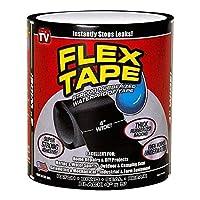 شريط Flex Tape 2 لونًا من شريط الإغلاق المطاطي القوي المقاوم للماء كما تراه على التلفزيون