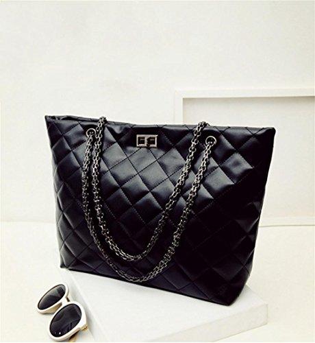 Z&HX sportsHandtasche Kette Tasche Handtasche Schultertasche beil?ufige Art und Weise Black