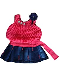 2eab94c733151 FM Cute Fashion Baby Girls Princess Party Wear Plating Midi  Skirt(Ba200121_tomato_16_Tomato_3-6 Months