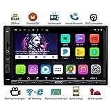 [Nuovo] ATOTO A6 Android 2DIN Autoradio Stereo Navigatore Dual Bluetooth con 2A Ricarica rapida - Premium A6Y2721PB 2G+32G Car Entertainment Multimedia Radio,WiFi/BT Tethering internet - Supporta SD da 256GB