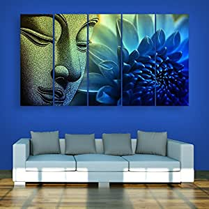 painting in living room wall inephos frames beautiful buddha wall painting for 22696