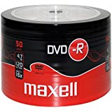 Maxell DVD-R 4.7GB 16x Spindle 50pk