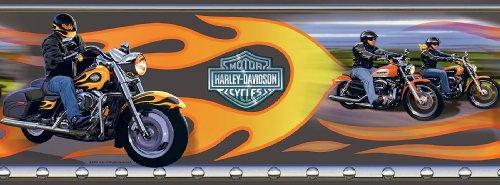 Harley Davidson Mural, mehrfarbig, 258-67113M