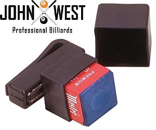 John West Billard Kreidehalter mit Magnetclip