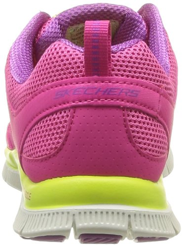 Skechers Flex Appeal Spring Fever, Chaussures de fitness femme Rose (Hplm)
