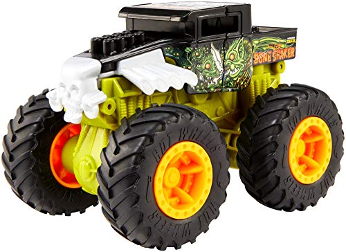 Hot Wheels Mattel GCF94 Monster Truck, Bash Ups Collection, Stile können variieren