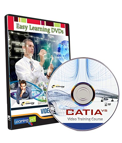 Easy Learning Catia V5 Video Training Tutorial Course (DVD)