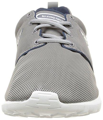 Le Coq Sportif Dynacomf Text, Sneakers Basses homme Gris (Titanium)