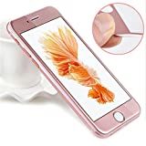 PHONILLICO Verre Trempe iPhone 6 /6S - Film Rose 100% Intégral 3D Protection Ecran...