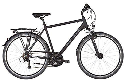 Vermont Brentwood Herren schwarz matt Rahmenhöhe 52cm 2019 Trekkingrad
