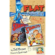 """Flat Stanley Magic: """"Stanley and the Magic Lamp"""", """"Stanley's Christmas Adventure"""": Two Books in One!"""