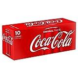 Coca-Cola Canettes 10 x 33 cl - Frigo Pack