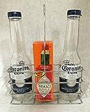 Corona Salt and Pepper Shakers in Chrome...