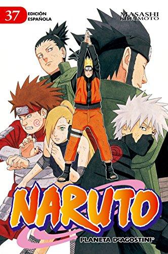 Naruto nº 37/72 por Masashi Kishimoto