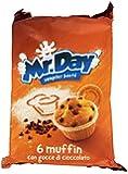 Misterday Mister Muffin Con Gocce Di Cioccolato Gr.252