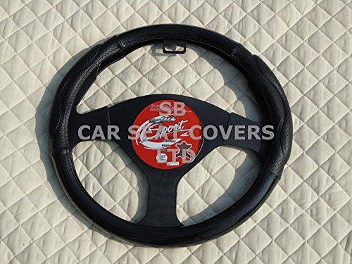 RM R-adatto per Peugeot 5008auto, coprivolante, Carbon look Swc 58Medium