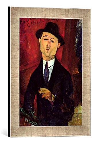 Gerahmtes Bild von Amedeo Modigliani Paul Guillaume (1893-1934) Novo Pilota, 1915