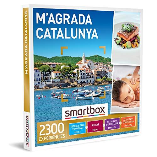 SMARTBOX - Caja Regalo hombre mujer pareja idea de regalo - M'agrada Catalunya - 2300 experiències com escapades, spa, sopars i activitats d'aventura