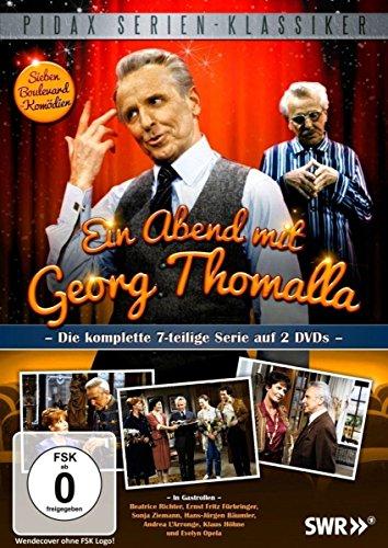Bild von Ein Abend mit Georg Thomalla / Die komplette 7-teilige Serie (Pidax Serien-Klassiker) [2 DVDs]