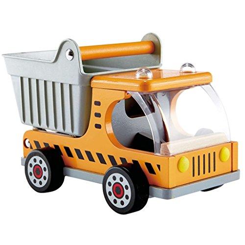 FZYHFA Camión Volquete Infantil Hape de Madera Pintura al Agua ABS BOMBA E3013 26 x 14,5 x 16,8 cm