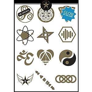 The Glam Tattoo Company Tatuaje metalico Temporal Comunicación Grafica 2016GT50