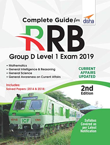 Complete Guide for RRB Group D Level 1 Exam 2019