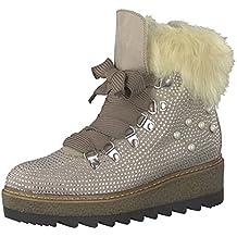 edb287e0ee0a Tamaris Damen Keilstiefeletten 26722-21,Frauen Stiefel ,Boots,Halbstiefel,Wedge-