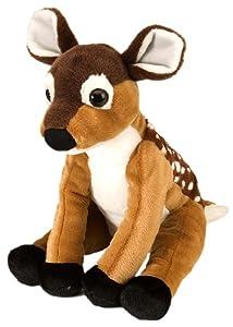 Wild Republic-11040 Peluche Venado Cuddlekins, Color marrón (11040
