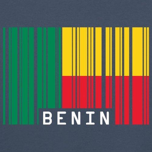 Benin / Republik Benin Barcode Flagge - Herren T-Shirt - 13 Farben Navy ...