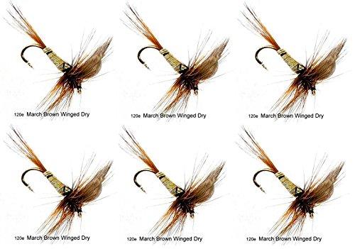 Bleu Epoxy Minnow Fly Fishing Flies taille 4 2 mouches