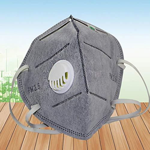 Carbón activado PM2.5 antivaho y neblina Máscara protectora 9042V (auriculares) productos de...