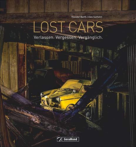 Lost Cars. Und sie leben doch! Nachtaufnahmen verlassener Autos. Ein Bildband mit automobilen Fundstücken an Lost Places: In Scheunen, aber auch im Freien, überwuchert vom Grün.