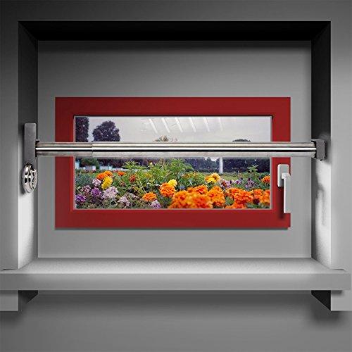 Fenstersicherung Sicherungsstange Türsicherung Einbruchschutz 1Fach 640-1000mm