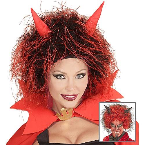 WIDMANN 6002C - Devil peluca Unisex