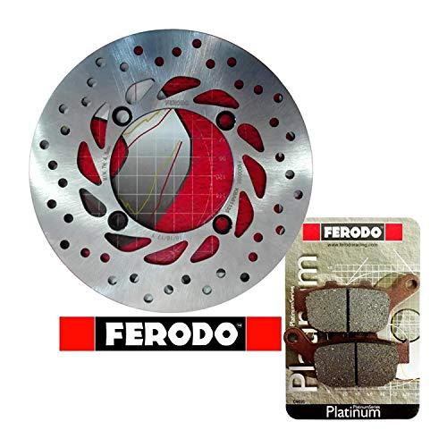 Kit freno posteriore disco pastiglie Ferodo XL 600 650 700 V Trans