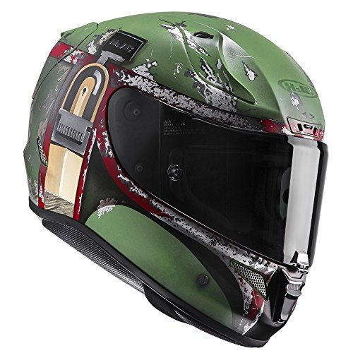HJC RPHA 11 BOBA FETT MC-4SF Star Wars Motorradhelm (L (Outfits Fett)