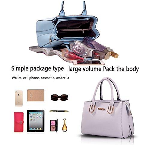 Sunas Ms. sacchetto spalla semplice della borsa selvaggia pacchetto diagonale grigio