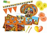 DECORATA PARTY Kit N 62 Coordinato per compleanno Bob Aggiustatutto - The Builder
